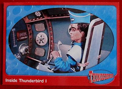 THUNDERBIRDS - Inside Thunderbird 1 - Card #03 - Cards Inc 2001 - Gerry Anderson