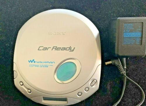 Sony CD Walkman D-E356CK Discman Portable Player CD-R/RW ESP MAX Fully Tested