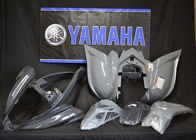 Raptor 700 plastics GENUINE YAMAHA fenders COMPLETE set 2006-2020 GRAY
