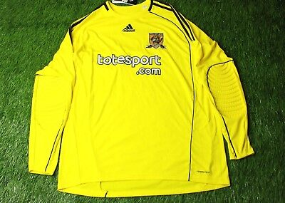 HULL CITY ENGLAND 2010-2011 FOOTBALL SHIRT JERSEY GOALKEEPER GK ADIDAS ORIGINAL image