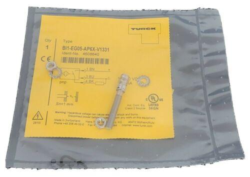 NEW TURCK BI1-EG05-AP6X-V1331 PROXIMITY SENSOR IDENT-NO. 4608640 10...30VDC
