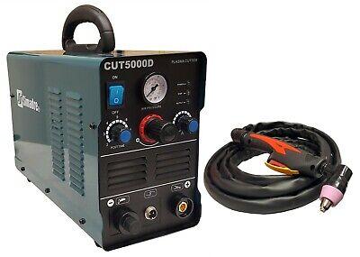 Plasma Cutter Simadre 5000d 50a 110220v Easy 12 Clean Cut Power 60a Torch New