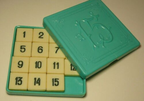 Vintage Puzzle Logic Game Soviet Russia USSR