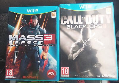 Mass Effect 3 Special Edition + Call of Duty : Black Ops 2 pour Nintendo Wii U