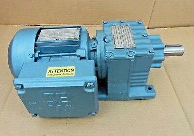 New Sew-eurodrive Dft71c4 13hp .33hp Gear Motor R27dt71c4 32.47 Ratio 53rpm Out