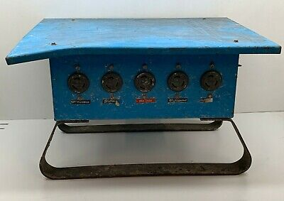 Cep 6506-s Outdoor Temporary Power Electrical Distribution Spider Box 50amp