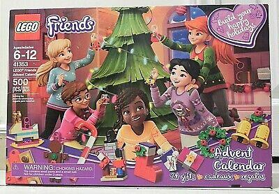LEGO Friends 41353 Friends Advent Holiday Christmas Calendar NEW