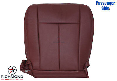 (2007-2014 Ford Expedition King Ranch - Passenger Side Bottom Leather Seat Cover)