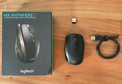 Logitech MX Anywhere 2 (910-004374) Bluetooth USB Maus Windows / Mac - Mit OVP