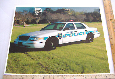 ~HOUSTON POLICE~8 X 10 COLOR PHOTO~