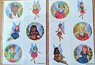 24 Fairy Temporary Tattoos Transfers Childrens Boys Girls Party Bag Fillers](Childrens Tattoo Transfers)