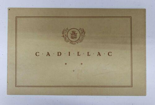 1926 Cadillac Sales Catalog (Dutch)