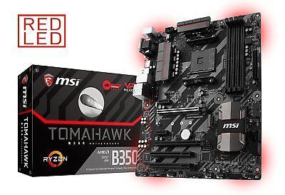 MSI AMD Ryzen B350 TOMAHAWK AM4 DDR4 USB 3.0 HDMI Crossfire ATX Motherboard