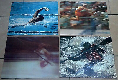 Set Of 4 Bank Of Montreal 76 Olympics Posters  17  X 14