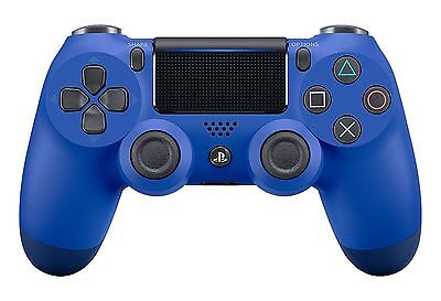 Official Sony PlayStation 4 PS4 Dualshock 4 Controller Brand New Wave Blue
