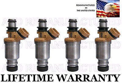 OEM DENSO 4x  Fuel Injectors for 93-97 Toyota Corolla Geo Prizm 1.6L