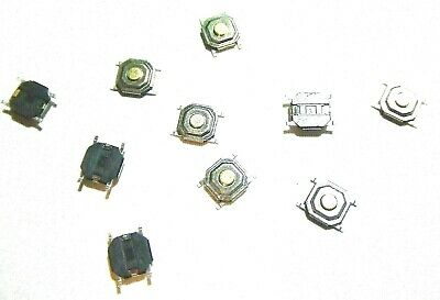 10x 441.6mm Tactile Push Button Switch Smd-4pin Waterproof