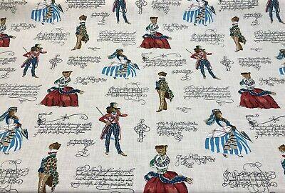 P Kaufmann Belle of the Ball Linen Cat Fabric by the Yard  for sale  Los Angeles