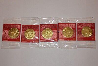 NEW McDonalds Big Mac Coin Maccoin Pick 1968-1978 1978-1988 1998-2008 2008-2018