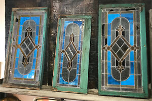 Authentic Antique Stained Glass Windows - over 100 yrs old