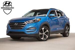 2016 Hyundai Tucson Luxury GPS CUIR TOIT PANO. CAM DE RECUL