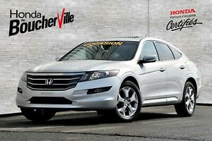 2010 Honda Accord Crosstour EX-L AWD Impeccable, Jamais Accident