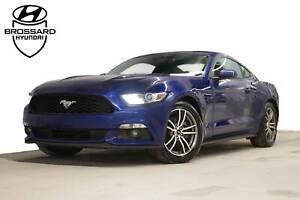 2015 Ford Mustang PREMIUM CUIR CAM DE RECUL, CUIR, BLUETHOOT