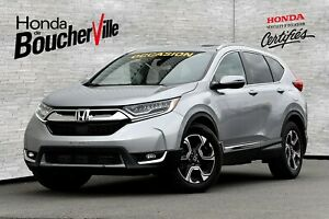 2017 Honda CR-V Touring AWD H/S Garantie Jamais accidenté