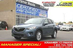 2015 Mazda CX-5 GT AWD w/BOSE & Leather