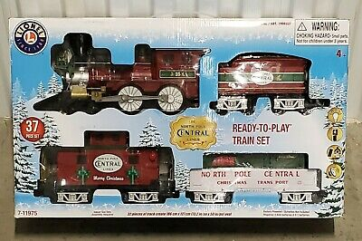 Lionel Trains North Pole Central Lines Battery Operated Christmas Train Set NEW