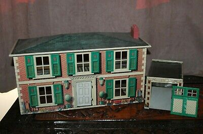 Vintage Mettoy Tin Dolls House TLC