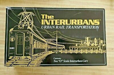 Boxed K-LINE CHICAGO SOUTH SHORE SOUTH BEND RAILROAD INTERURBANS