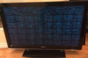 TV Sharp Aquos/Model: LC-46D82U (needs fixing to use)