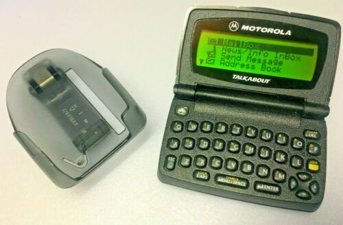 Motorola Talkabout Pager A06PKB5806AA Text Beeper WORKS. Ships SAME DAY!
