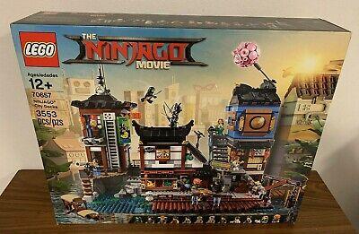 LEGO The LEGO Ninjago Movie NINJAGO City Docks (70657) New & Sealed