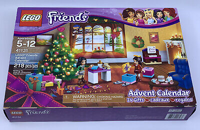 NEW 2016 Lego Friends Advent Calendar Set 41131 - 218 pcs / 24 Gifts - Retired