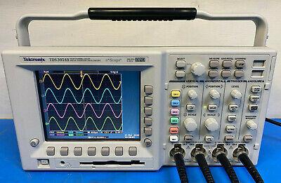 Tektronix Tds3054b 4ch Digital Phosphor Oscilloscope 500 Mhz 5gss