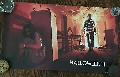 Halloween II Limited Edition Lithograph Scream Factory OOP!