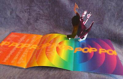 U2 1997 POP MART POPMART Tour CONCERT PROGRAM BOOK W/ Pop-Up The Edge NM/M Bono, usado comprar usado  Enviando para Brazil