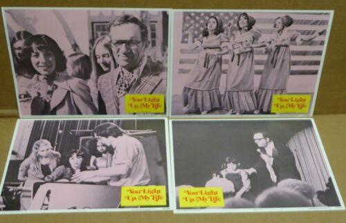 7 different (2-8) You Light Up My Life Lobby Card (s) 1977 Didi Conn Joe Brooks