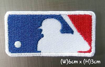 MLB 6cmx.3cm Baseball Sport Patches Logo Embroidery Iron,Sewing on Clothes