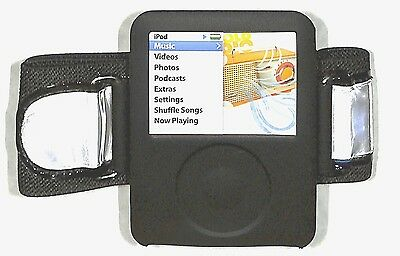 Ipod Nano Black Armband - Griffin Armband case (skin) for iPod nano 3rd Generation GEN
