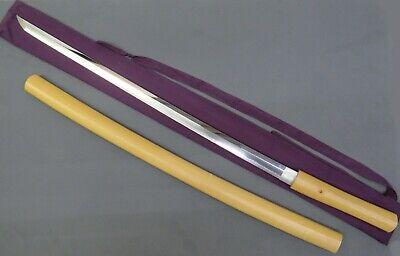 "VINTAGE JAPANESE SAMURAI KATANA SWORD & SAYAGAKI - SIGNED - 35"" BLADE LENGTH"