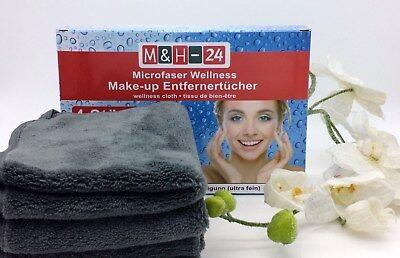Mikrofaser Kosmetik Tücher Abschmink Tuch Peeling Gesichtsreinigung Make-up