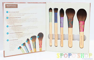 New-Ecotools-Fresh-Flawless-5-Piece-Complexion-Set-Earth-friendly-Beauty-1253