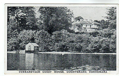 Currarevagh Guest House - Oughterard Connemara Photo Postcard 1952