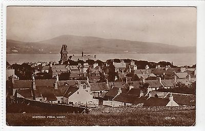 WIGTOWN FROM WEST: Wigtownshire postcard (C13679)