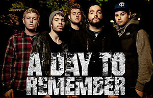 A-DAY-TO-REMEMBER-A3-POSTER-PRINT-ART-BUY-2-GET-1-FREE