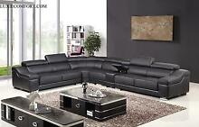BRAND NEW COW LEATHER SOFA MANY DESIGN AND SIZE FROM FACTORY PRIC Hoppers Crossing Wyndham Area Preview
