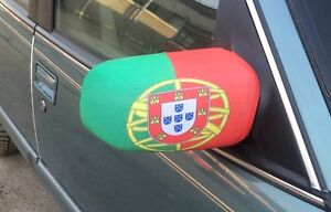 PORTUGAL World Cup mirror covers and car flags